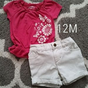 [EUC] Baby Girl Summer Outfit
